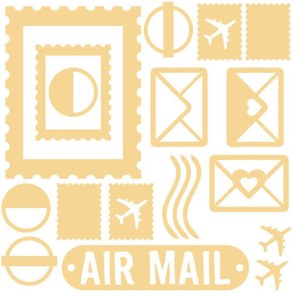 Air Mail - Air Mail Chipboard