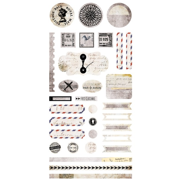 Air Mail - Element Stickers 6x12