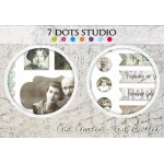 7 Dots Studio - Cold Country - Element Stickers 6x12