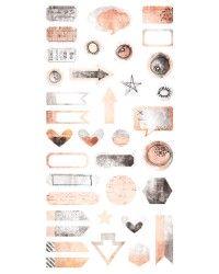 Cotton Candy Dreams - Die-cut Elements 6x12