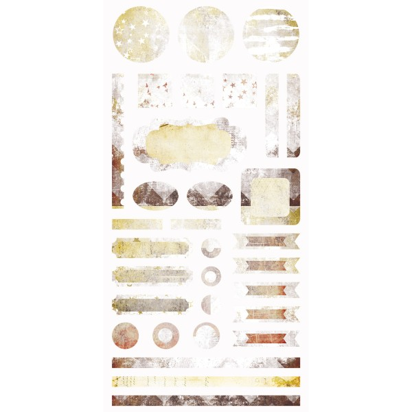 Dreamscapes - Element Stickers 6x12