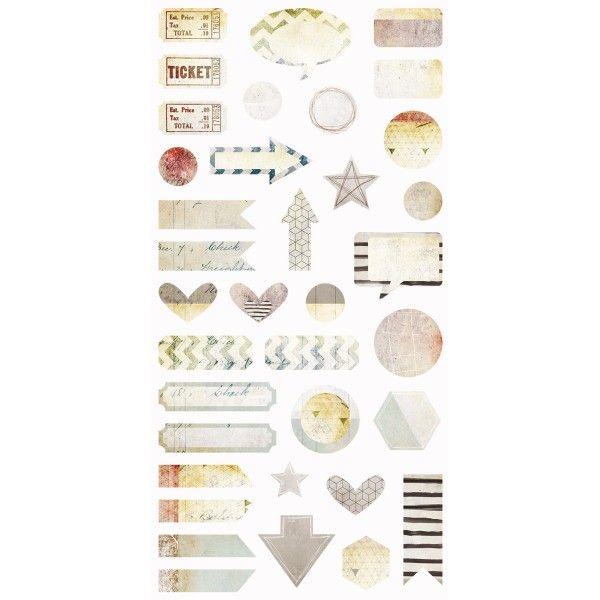 Dreamscapes - Die-cut Elements 6x12