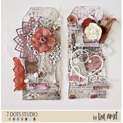 Valentine's Day tags by Lisa Amiet