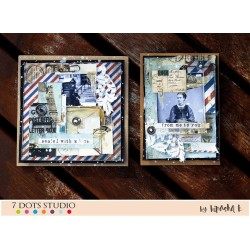 Air Mail cards by Bipasha K