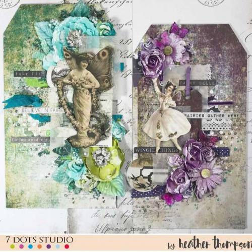 Faerie Tags by Heather Thompson