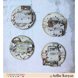 Artist Trading Coins by Heather Thompson