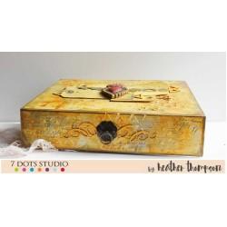 Altered Tea Box by Heather Thompson