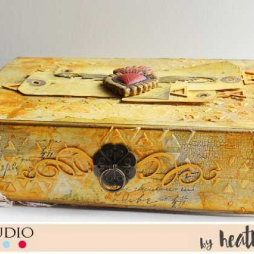 Altered Tea Box by Heather Thompson