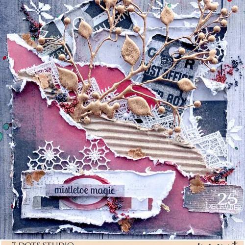 Mistletoe Magic by Lisa Amiet