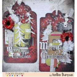 Gift tags by Heather Thompson