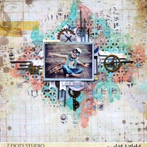 Little Pilot by Olga Bielska