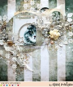 Kitten by Elena Martynova