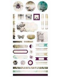 Garden Party - Element Stickers 6x12