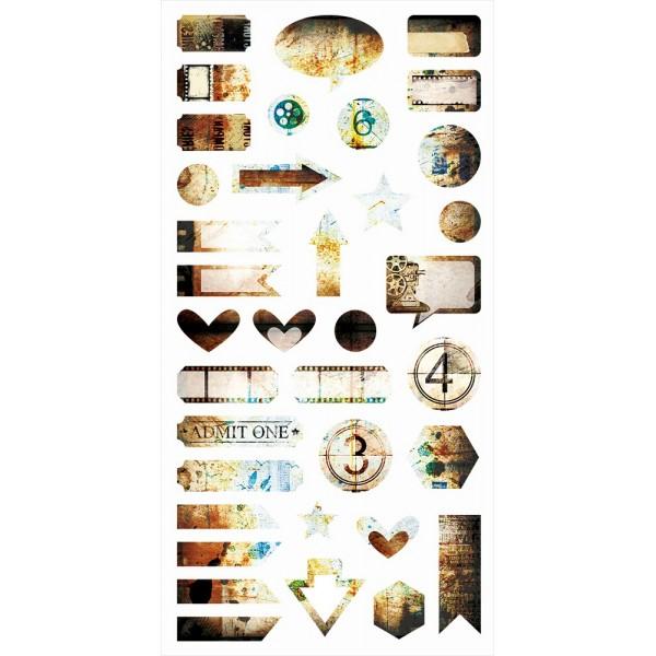 Hazy Days - Die-cut Elements 6x12