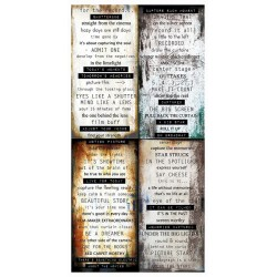 7 Dots Studio - Hazy Days - Word Stickers 6x12