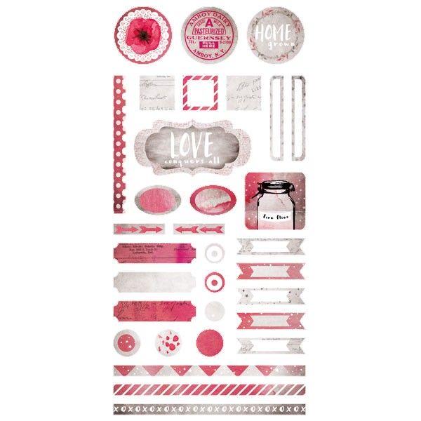 Homegrown - Element Stickers 6x12