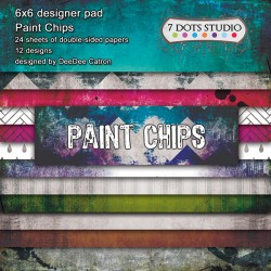 Paint Chips - Pad 6x6