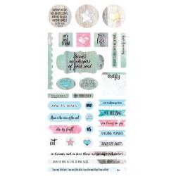 Verano Azul - Element Stickers 6x12