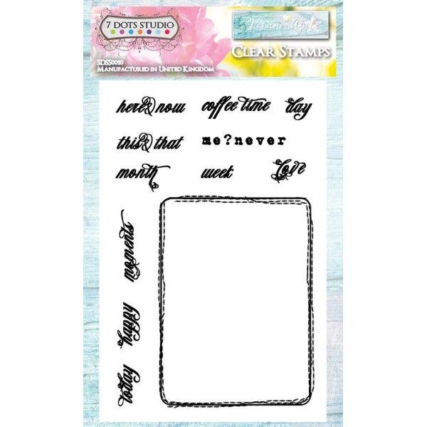 Verano Azul - Clear Stamps