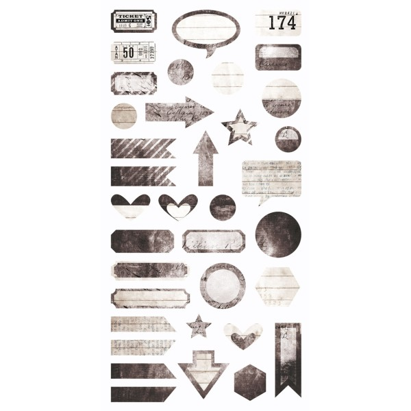 Writer's Block - Die-cut Elements 6x12